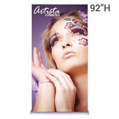 Retractable Banner Stand: Premium 48""