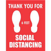 Thank You For Social Distancing