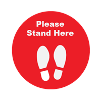 Please Stand Here - Round