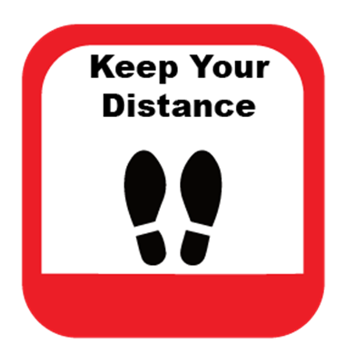 Keep Your Distance - Rounded Corners
