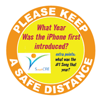 Keep Safe Distance - Trivia-First-I-phone - Round
